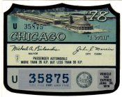 1977 IL tax sticker