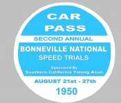 1950 Bonneville Speed Trials