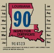 1990 Louisiana inspection