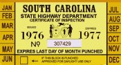 1976-77 South Carolina Inspection