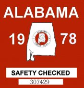 1978 Alabama Safety Check