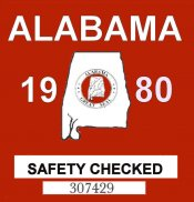 1980 Alabama Safety Check