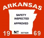 1969 Arkansas safety inspection