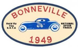 Bonneville Speed Trials 1949