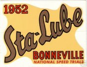 Bonneville Speed Trials 1952