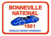 Bonneville Speed Trials 1981