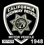 1948 California Safety Check inspection sticker