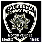 1950 California Safety Inspection sticker