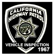 1967 Californis Inspection Sticker