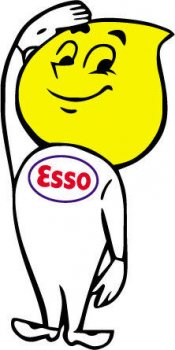Esso 1950s Smile Man