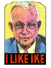 1950s I like Ike comic