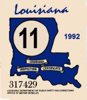 1992 Louisiana Inspection