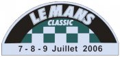 Lemans 2006 Racing sticker