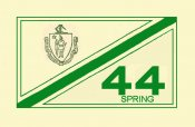 1944 Massachusetts Spring Inspection Sticker