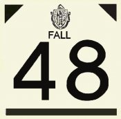 1948 Massachusetts FALL INSPECTION Sticker