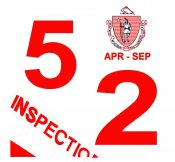 1952 Massachusetts SPRING INSPECTION Sticker