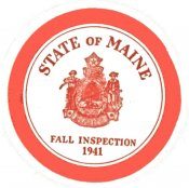1941 Maine Fall inspection