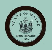 1954 Maine SPRING inspection