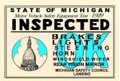 1929 Michigan Inspection