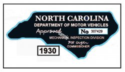1930 -1939 NC Inspection