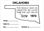 1974-11 Oklahoma Inspection Station