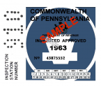 1963 Pennsylvania INSPECTION FALL
