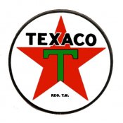 TEXACO 1950s Service Door Sticker