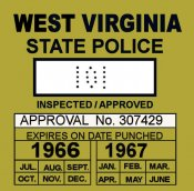 1966-67 West Virginia Inspection