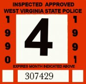 1990-91 WV Inspection