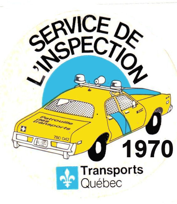1970s Quebec Inspection sticker CANADA