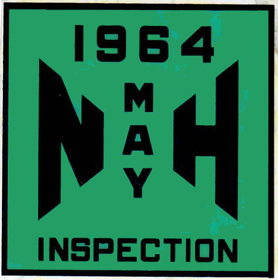 1964 New Hampshire Inspection