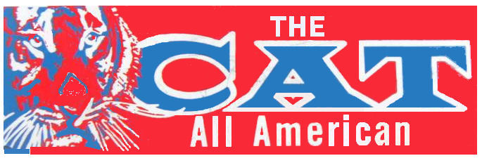 CAT motorbike sticker (All America)