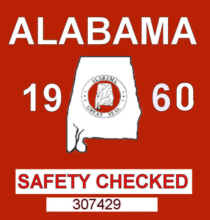 1960 Alabama Safety Check