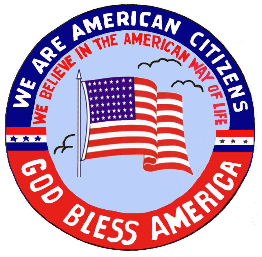 American Citizen God Bless America
