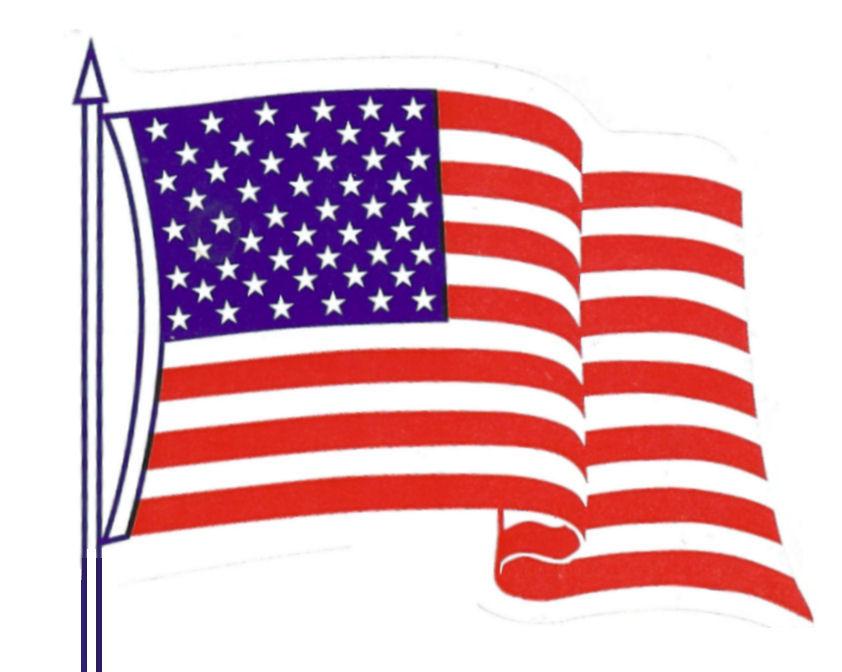 American flag 50 stars