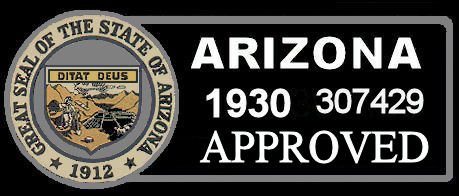 1930 Arizona Inspection Sticker