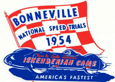 Bonneville Speed Trials 1954