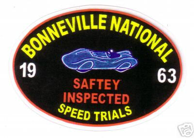 Bonneville Speed trials 1963