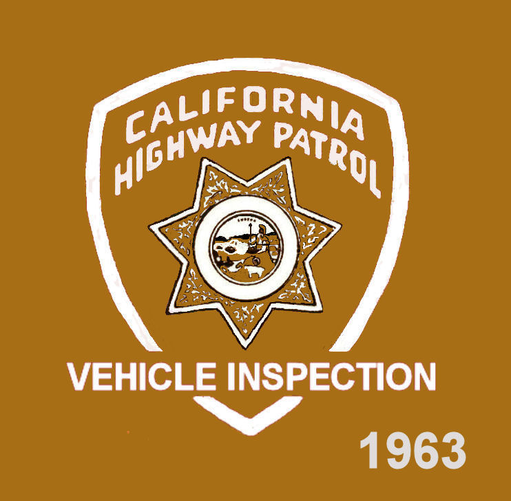 1963 California Inspection Sticker