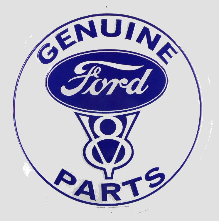 Vintage Ford Decals : Ford genuine v parts bob hoyts classic