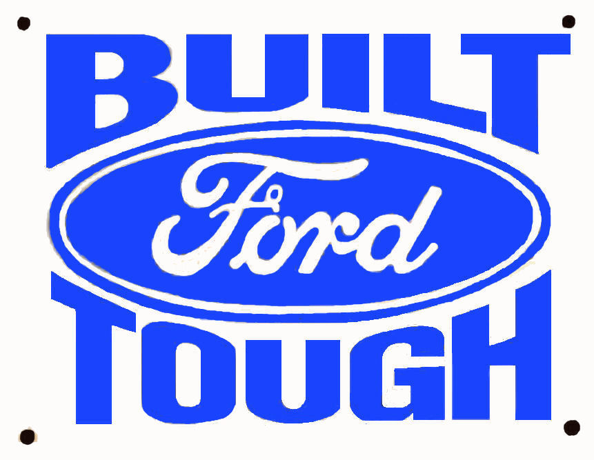 FORD Built Ford Tough - $7.00 : Bob Hoyts Classic Inspection Stickers ...
