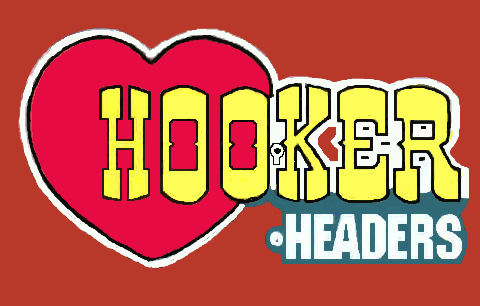 Hooker Headers window sticker