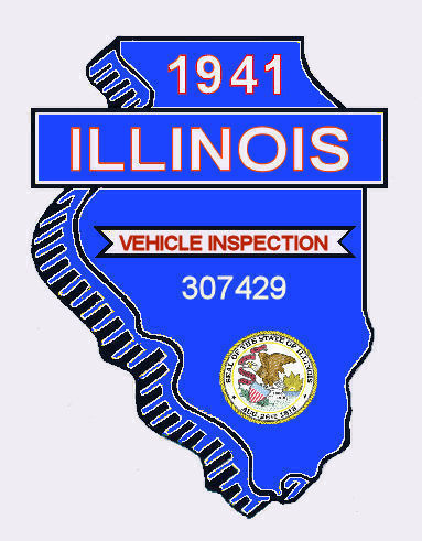 1941 Illinois safety check Inspection