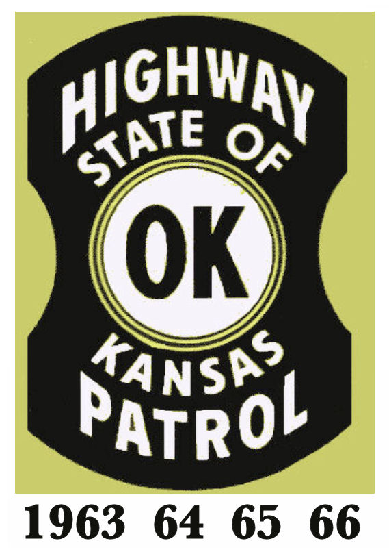 1963-66 Kansas Inspection Sticker