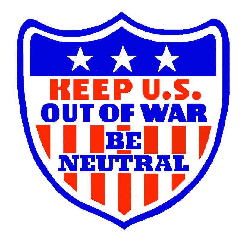 1941 Keep US out of the war Sticker