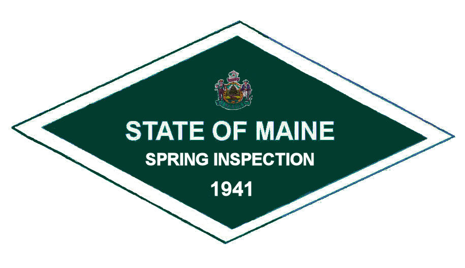 1941 Maine SPRING Inspection