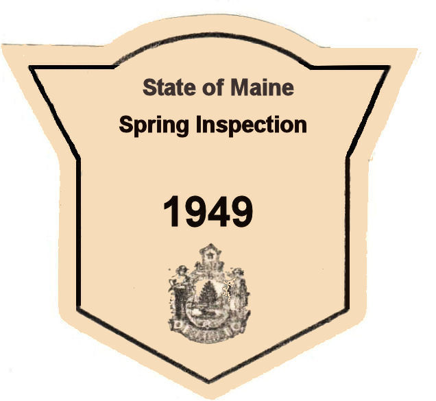 1949 Maine Spring inspection