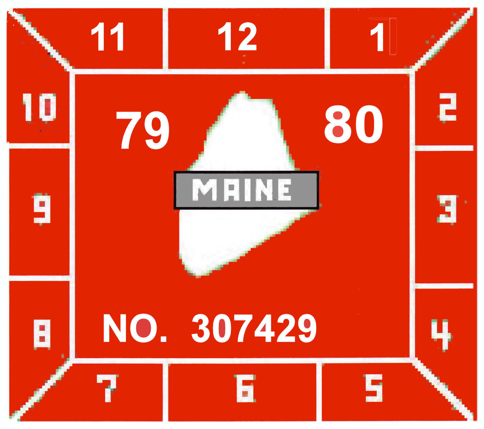 1979-80 MAINE iNSPECTION - Click Image to Close