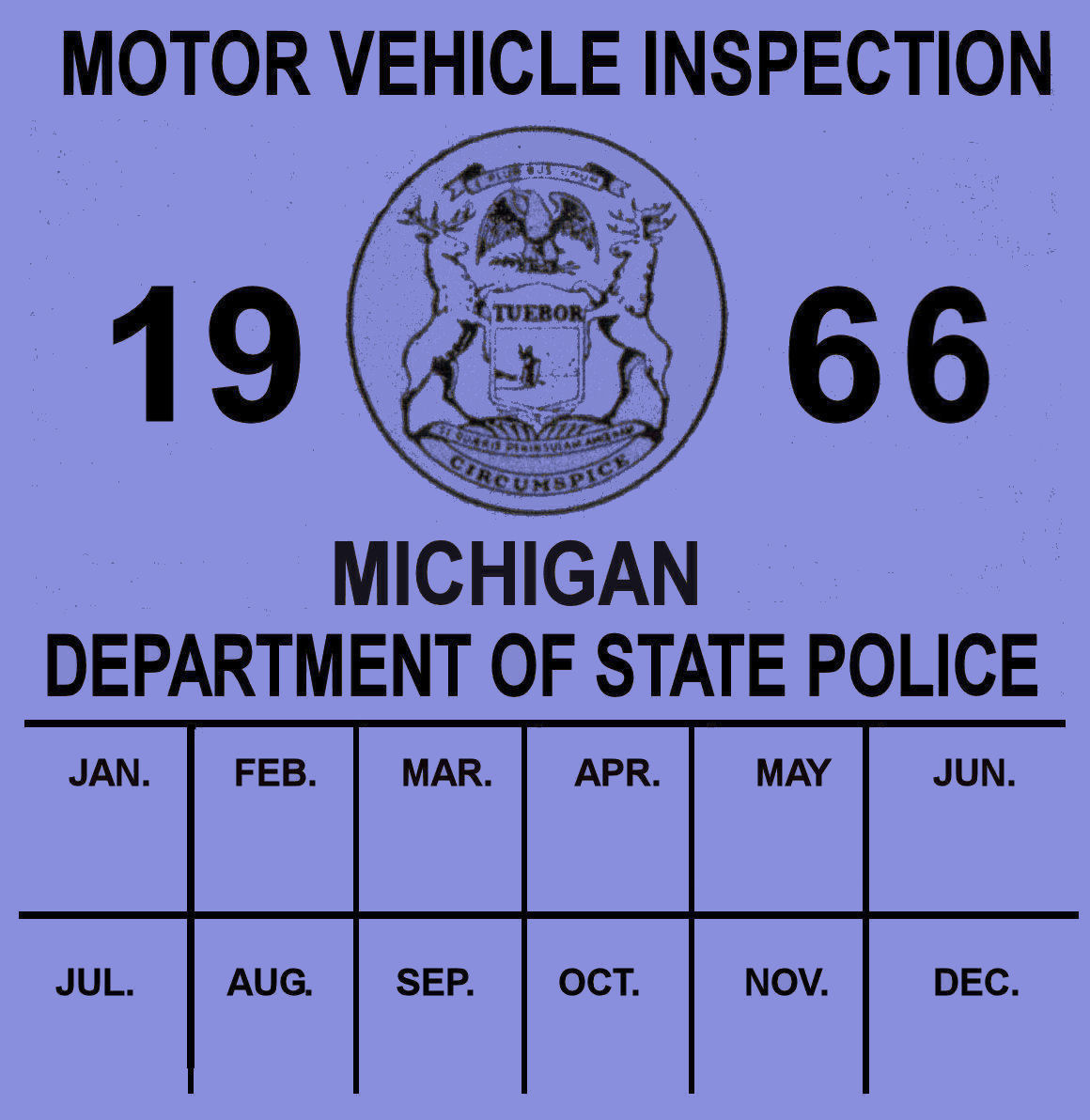 Where to get inspection sticker kamos sticker for Ny motor vehicle inspection
