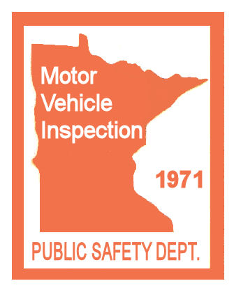 1971 Minnesota Inspection Sticker